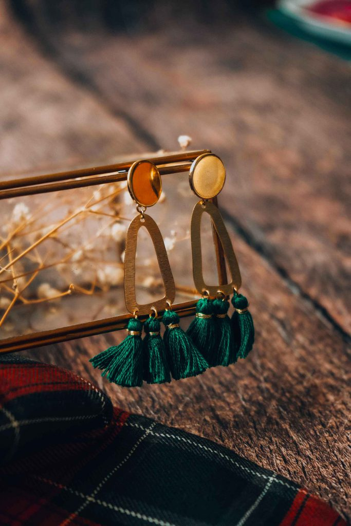 photo boucles d'oreilles Frida