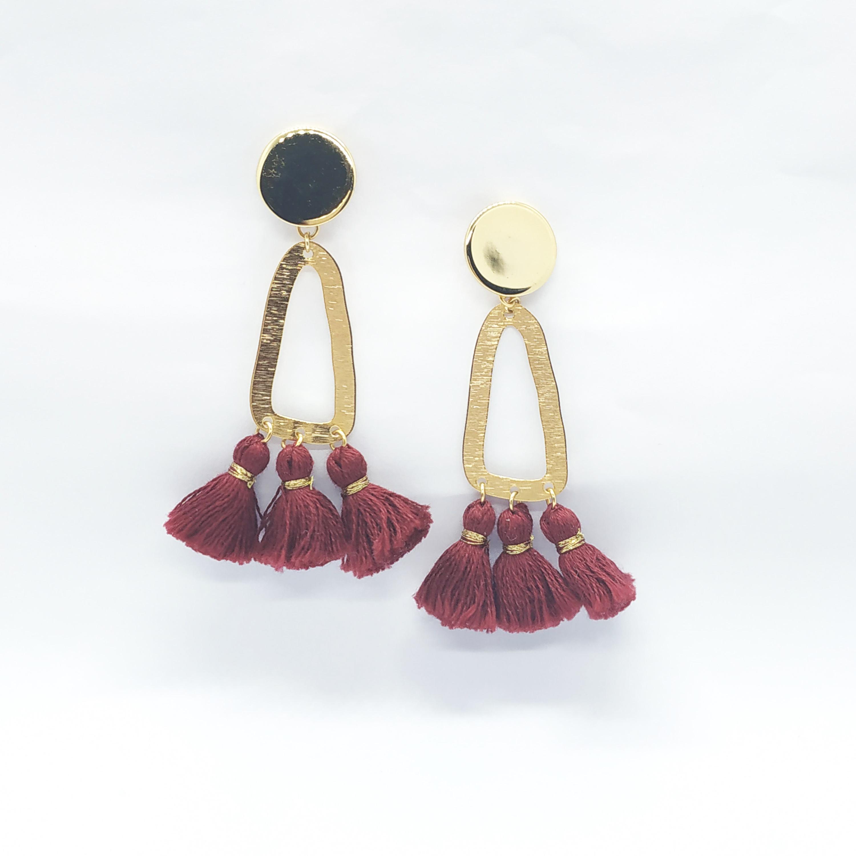photo boucles d'oreilles Frida Valentine