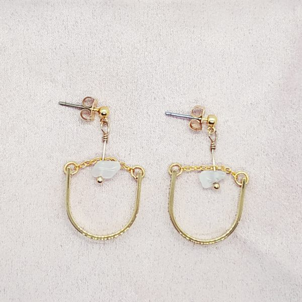 photo boucles d'oreilles Thalie