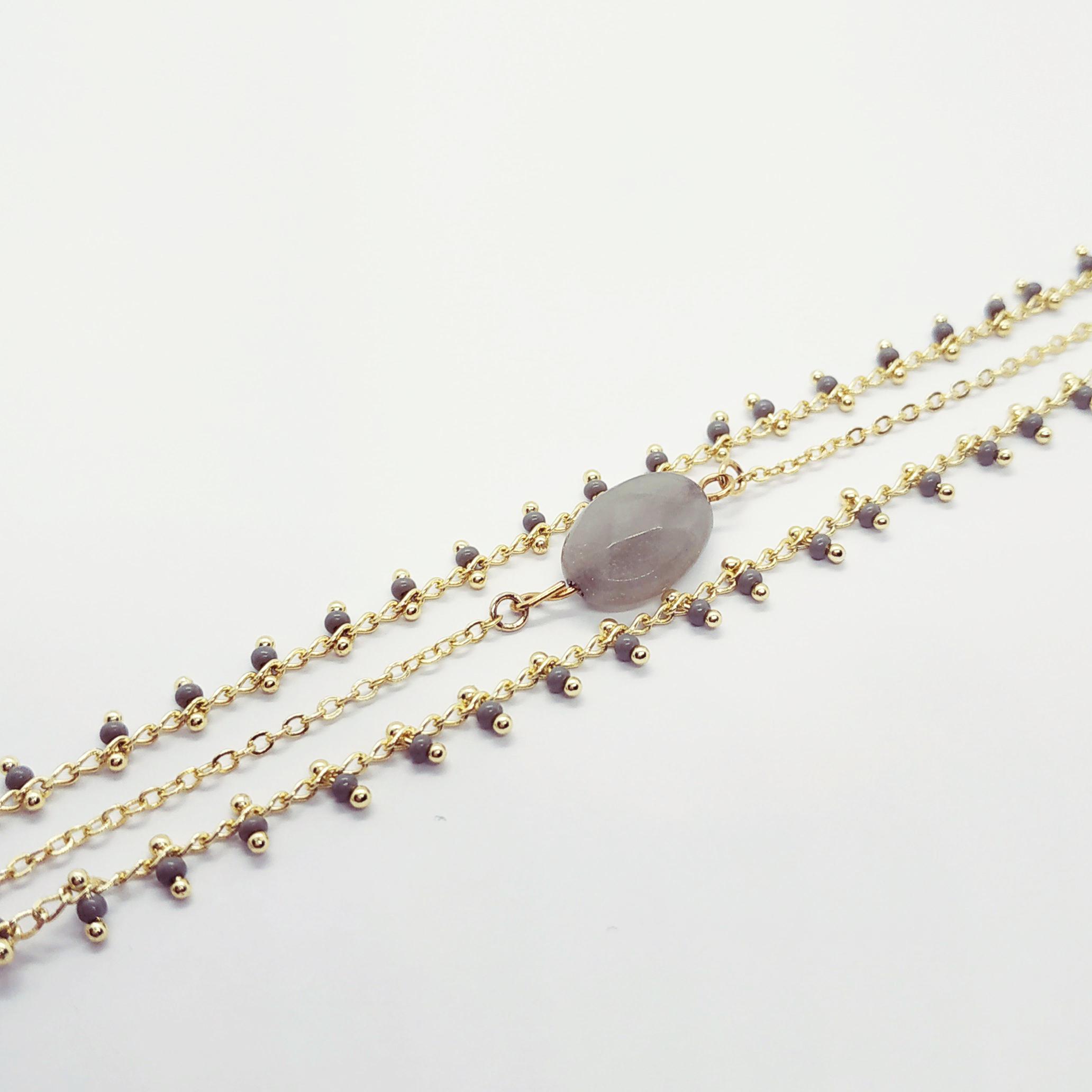 photo bracelet Anna gris