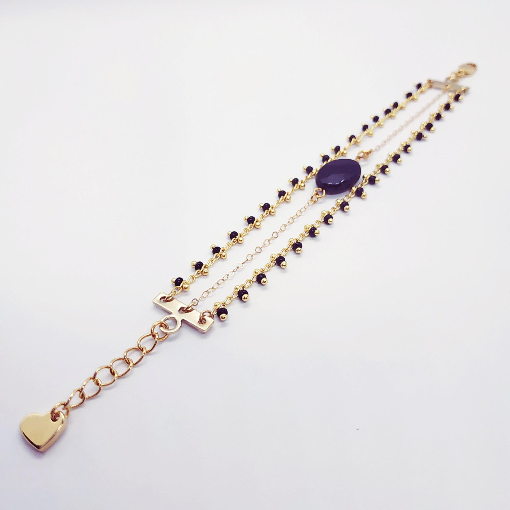photo bracelet Anna noir