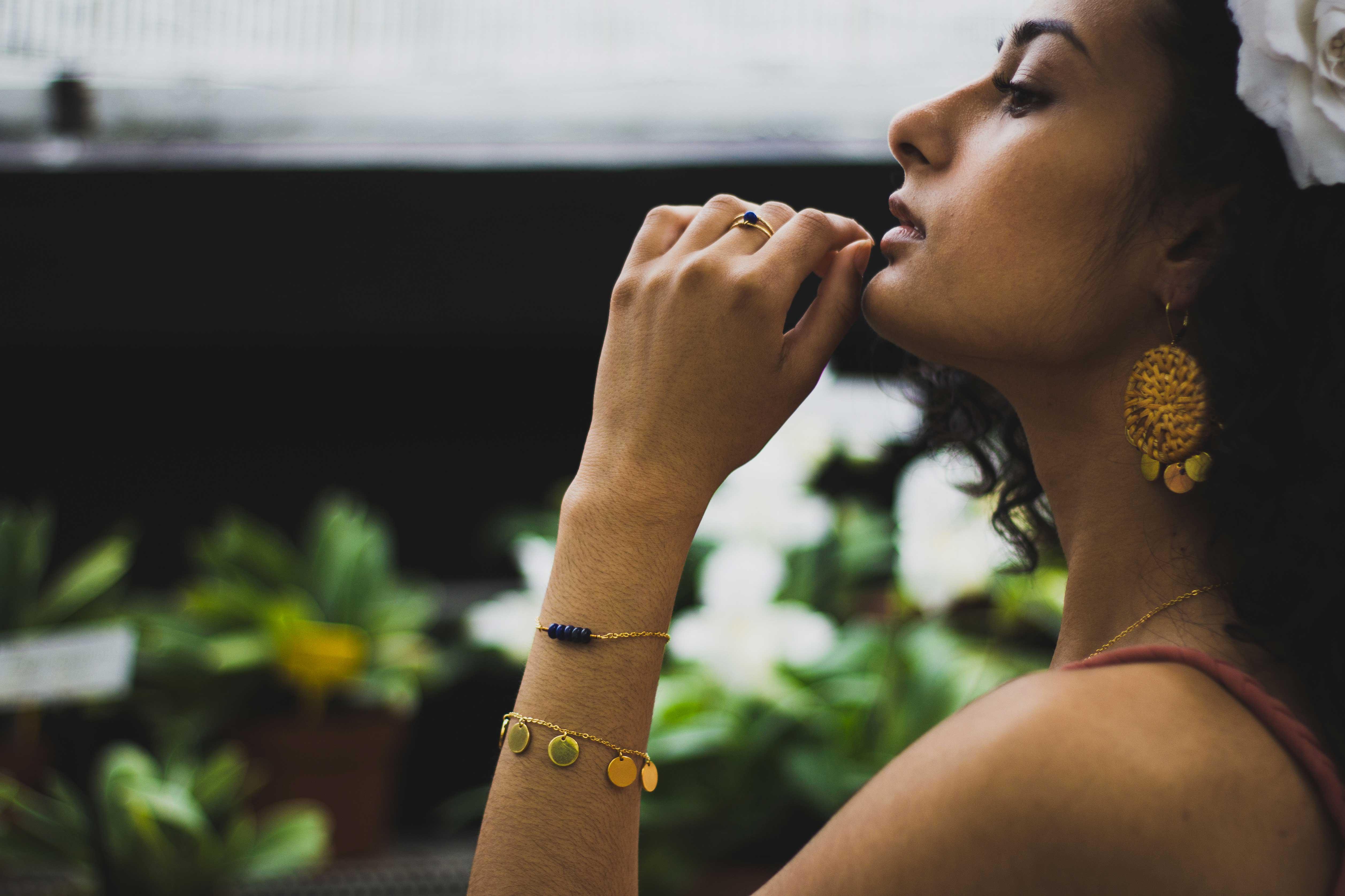 photo bague Lauren bracelet norah bleu