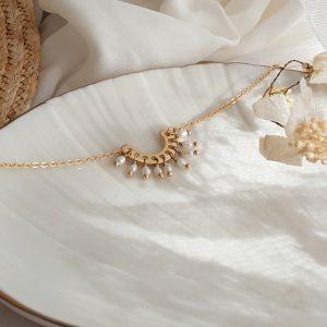 photo bracelet olympe blanc