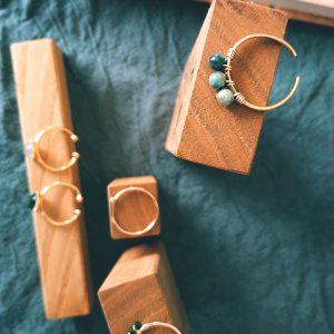 image bague Gemma turquoise africaine