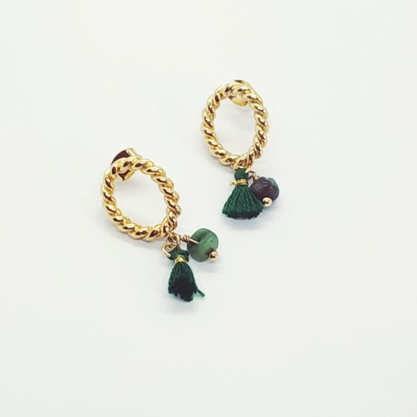photo boucles d'oreilles Scarlett