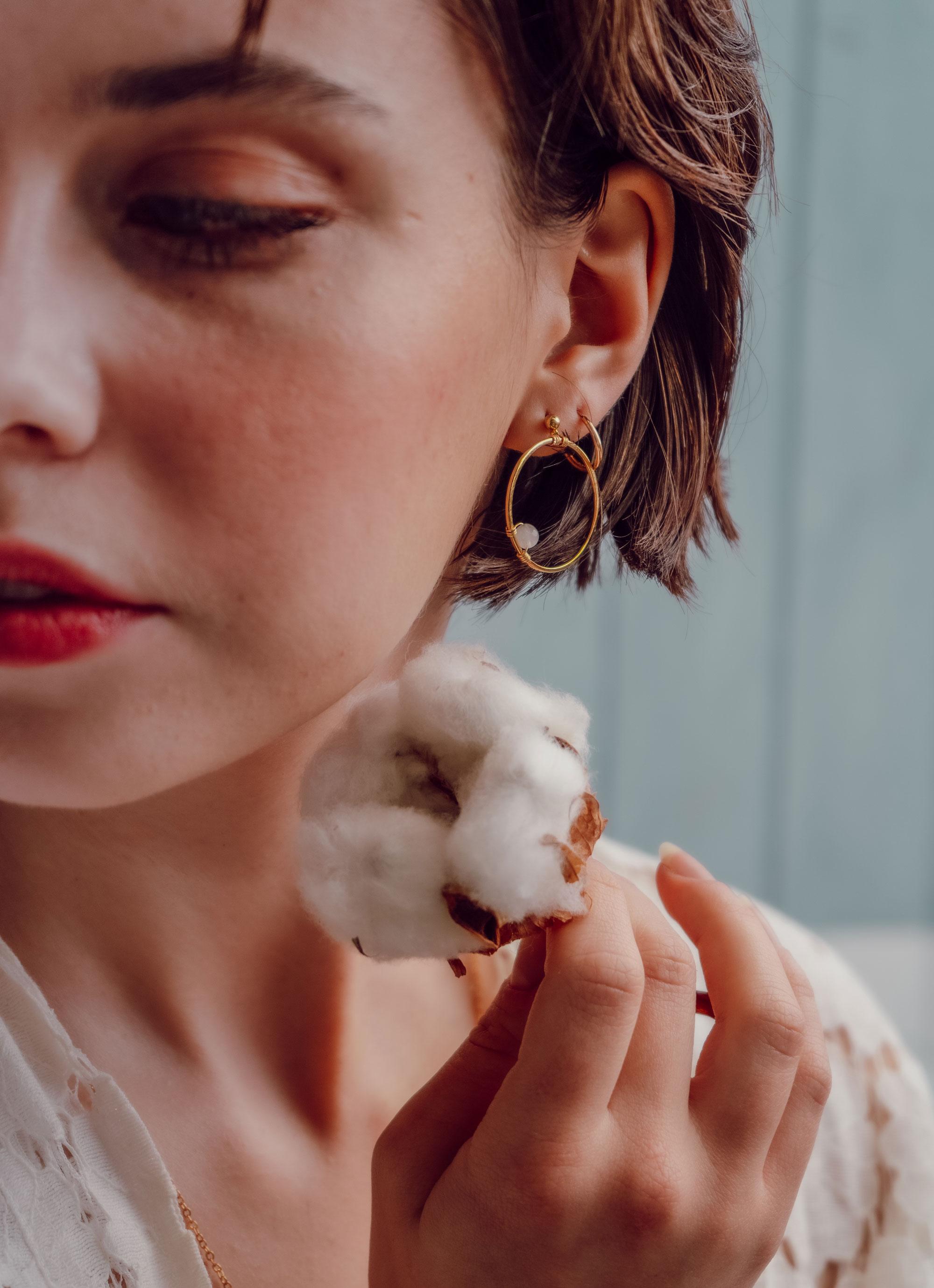 photo boucles d'oreilles Lilikoï