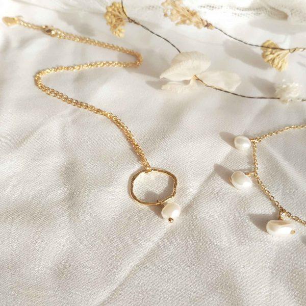 photo collier perle henö