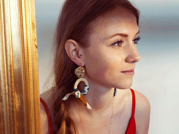 Boucles d'oreilles Andréa