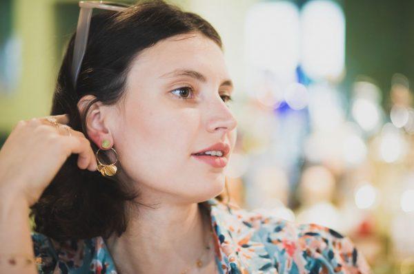 Boucles d'oreilles Maü